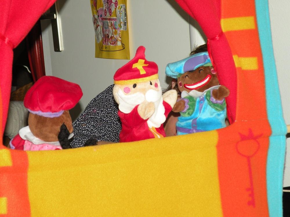 Sinterklaas op Kinderdagverblijf Benjamin in Gouda